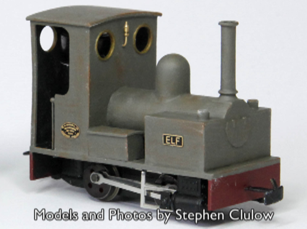 OO9 Bagnall 0-4-0 for Minitrains Chassis in Smooth Fine Detail Plastic