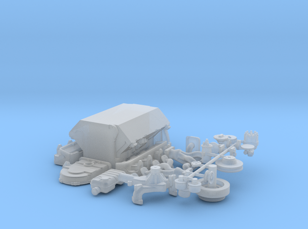 1/25 Ford 427 Side Oiler Basic Block Kit