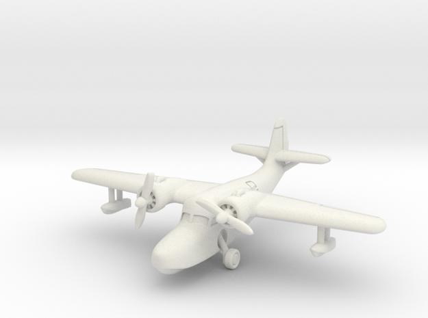 Grumman JRF-5 Goose (with landing gear) 1/285 6mm in White Natural Versatile Plastic