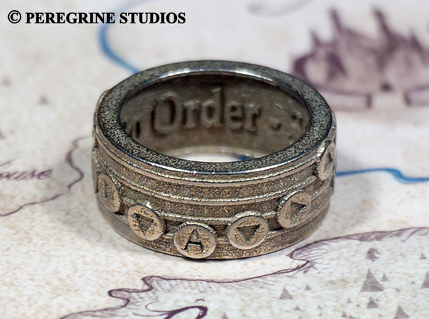 Ring - Oath to Order in Stainless Steel: 13 / 69