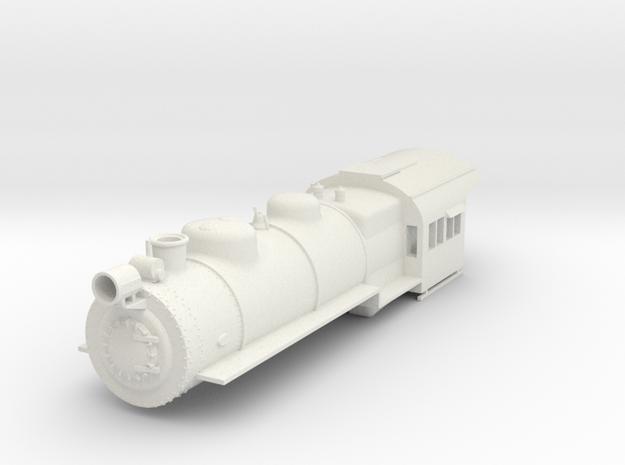 PRR H8/9/10 Boiler Shell S Scale in White Natural Versatile Plastic