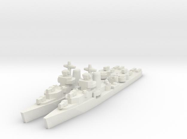 Benham class destroyer 1/1800 x2 in White Natural Versatile Plastic