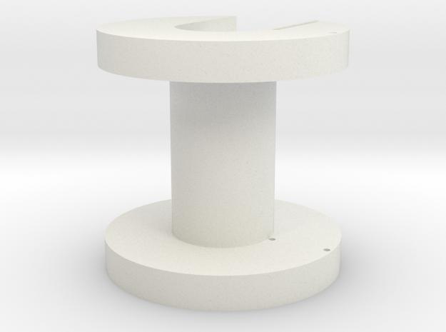 UY1658 Core Bobbin in White Natural Versatile Plastic