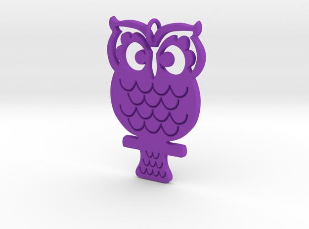 Retro Owl Pendant