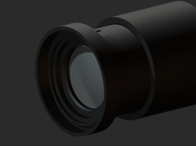 55mm Snap On Sony Adapter 3d printed