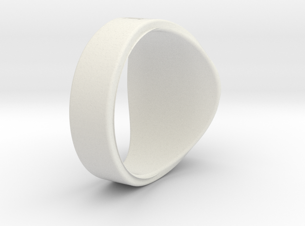 NuperBall gh0st Ring S7 in White Natural Versatile Plastic