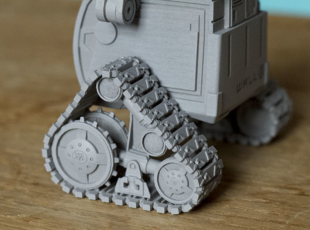 WALL-E 3d printed nice working tracks!