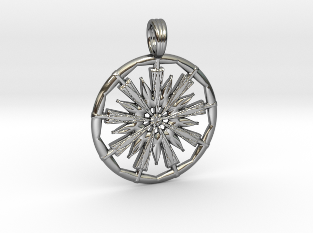 CHARMING VORTEX in Premium Silver