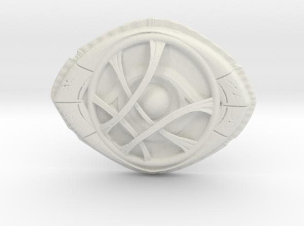 Dr Strange's Eye Of Agamotto in White Natural Versatile Plastic