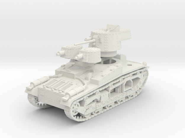 Vickers Medium Mk.III 15mm in White Strong & Flexible