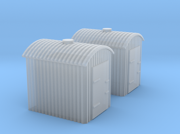 (1:450) GWR Lineside Huts #3 in Smooth Fine Detail Plastic