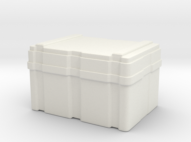 SULACO Cargobox Big 1:18 in White Natural Versatile Plastic