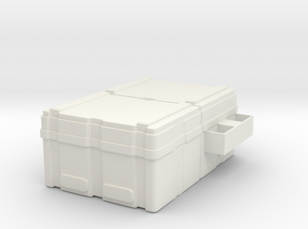 Powerloader crate 1:32 scale in White Natural Versatile Plastic