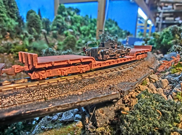 NZ120 UD Class 1940 in Smooth Fine Detail Plastic