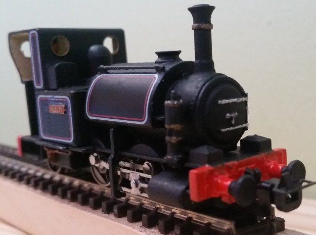 009 Westinghouse Air Pump for Talyllyn Locos in Smooth Fine Detail Plastic