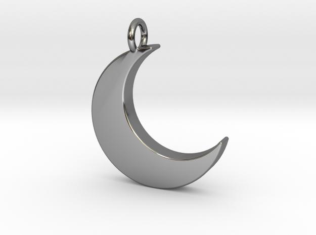 Crescent Moon Pendant