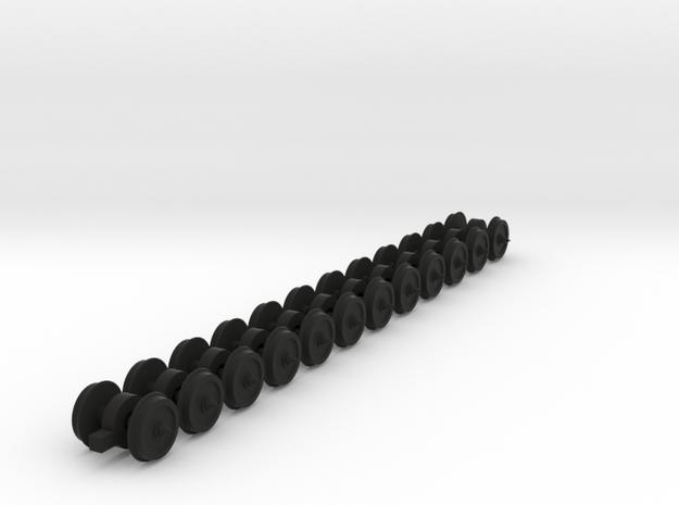 12x 9 mm Gauge Wheels for OO9,HOn30,O9 - 8mm diam  3d printed