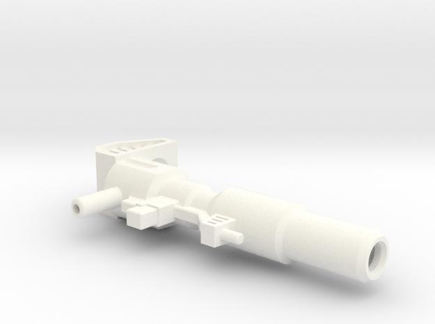 Prime Rifle 1 in White Processed Versatile Plastic