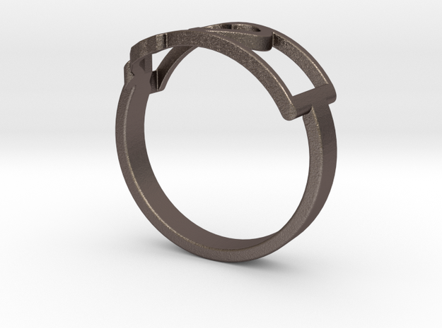 Montana Ring Size 6 in Stainless Steel