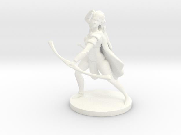 Pathfinder / D&D Female Forest Elf Ranger