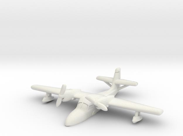 Grumman J4F Widgeon (resting on water) 6mm 1/285 in White Natural Versatile Plastic