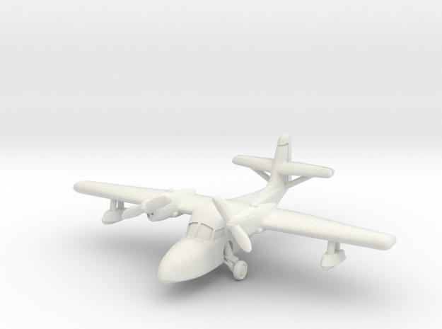 Grumman J4F Widgeon (with landing gear) 6mm 1/285 in White Natural Versatile Plastic