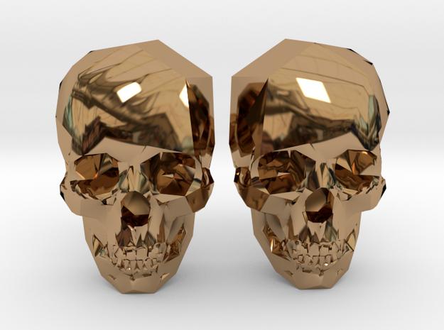Cufflink Skull