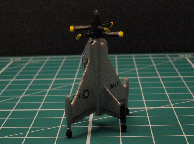 Convair XFY-1 1/285 6mm 3d printed