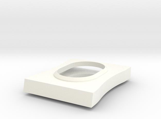 Suppflare in White Processed Versatile Plastic