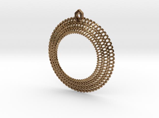 Crochet Pendant (precious metals)