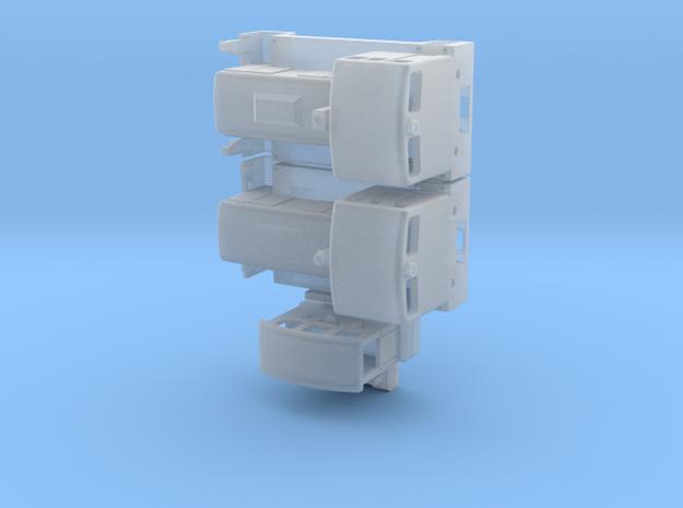 V10B, V15B, Breuer Schienentr. (1/200) für Spur Z in Smooth Fine Detail Plastic