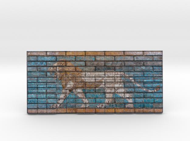 Lion of Bab'El  in Full Color Sandstone