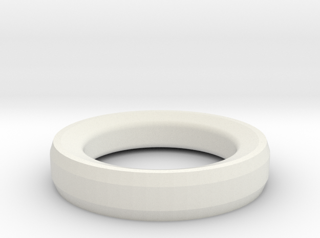 Prototype Ring Design 1 for RFID Tag in White Strong & Flexible