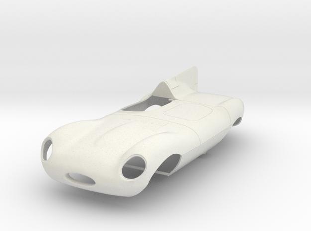 1/12 Jaguar Short Nose D Type 3d printed