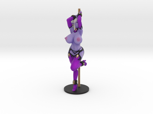 Pole Dancer Syx (Topless) in Full Color Sandstone: Small