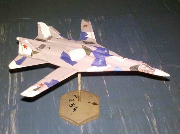 1/300 Russian PAK DA Bomber in White Natural Versatile Plastic