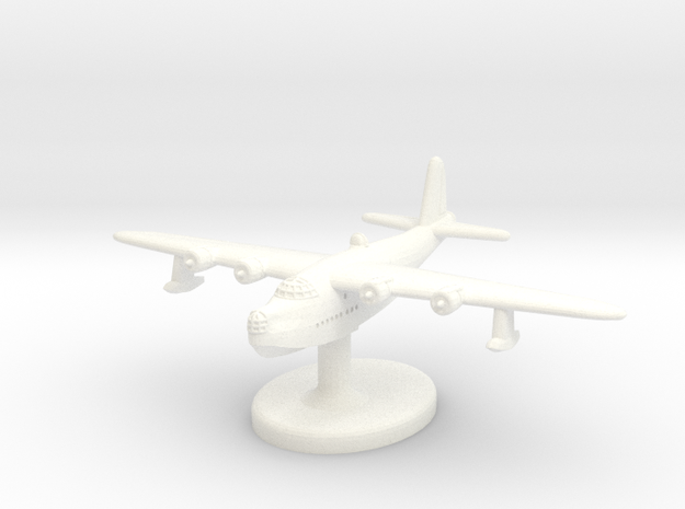 S.25 Short Sunderland (1/600 Scale) Qty.1 in White Processed Versatile Plastic