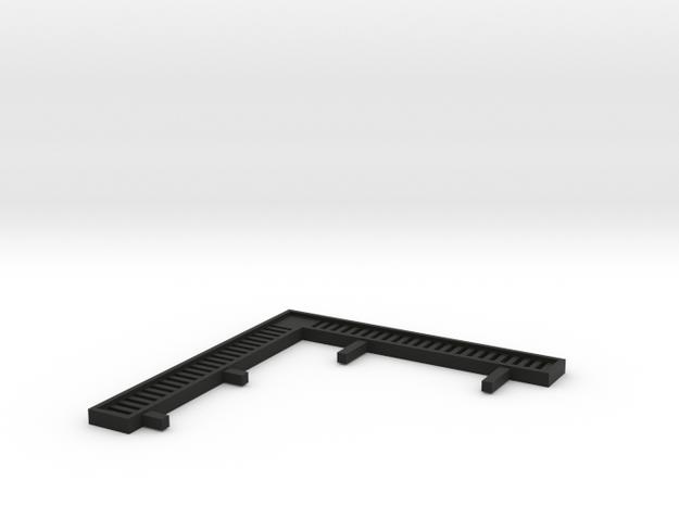 V1511161 (2 van 3) Villa Monster zonwering1 1:200 in Black Natural Versatile Plastic