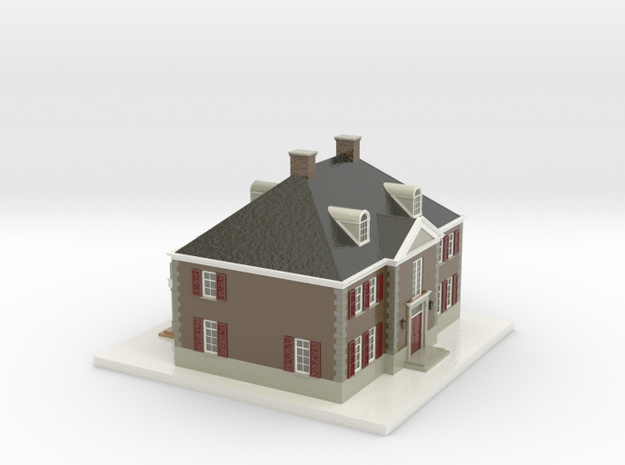 1108010 - Villa Buitenzicht 1:200 in Glossy Full Color Sandstone