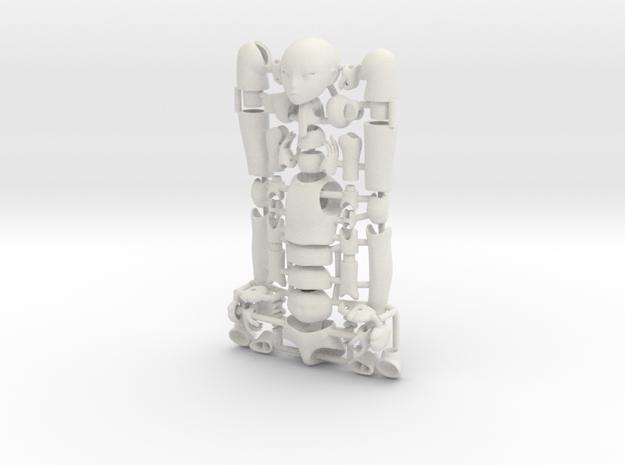 1/12 scale ALTER EGO MkXX bjd model kit