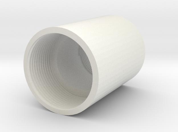 Autococker Adapter in White Natural Versatile Plastic