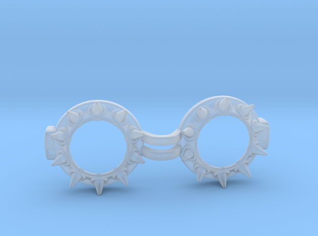 Goggles Punk Goth Spiked 1/3 SD doll scale 3d printed