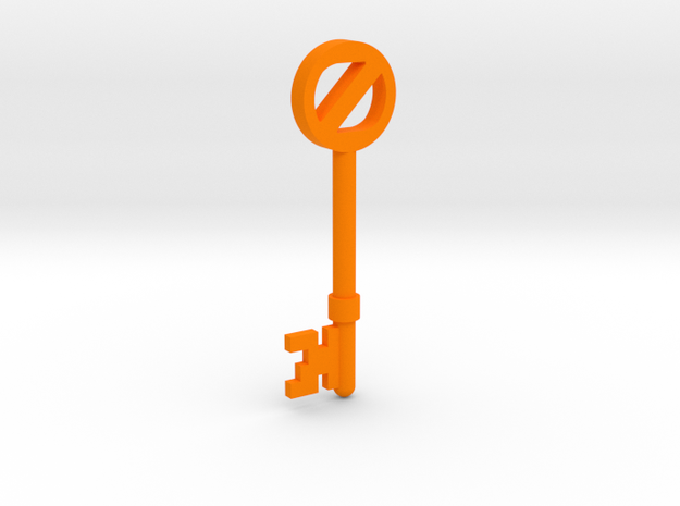 Return To Oz Key 3d printed