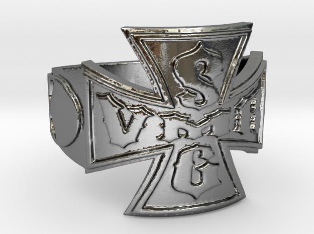 VMRSG_v2 Ring Size 13 in Polished Silver