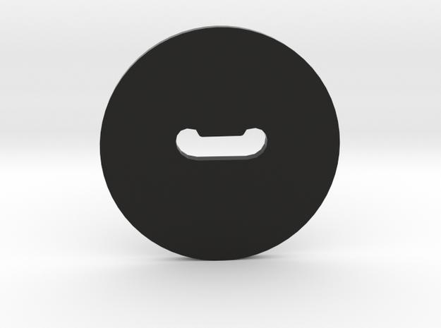 Clay Extruder Die: Handle 010 02 in Black Natural Versatile Plastic