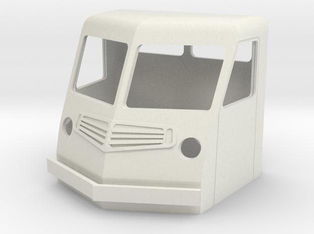 Fs-1-55-far-cab-1a in White Natural Versatile Plastic