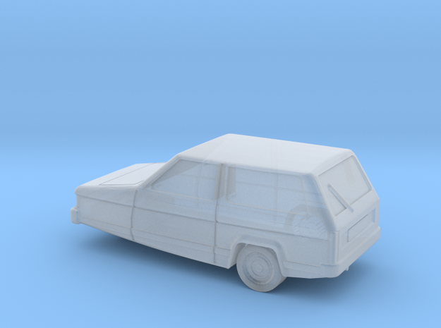 Reliant Robin (TT-Scale, 1:120) in Smooth Fine Detail Plastic