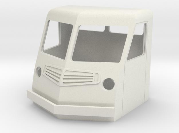 Fs-1-43-far-cab-1a in White Natural Versatile Plastic