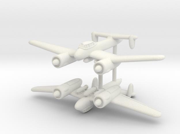 1/350 Blohm und Voss P.185 (x2) in White Strong & Flexible