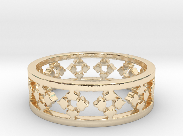 Endless Knight  Ring Size 10 in 14K Gold